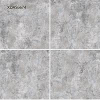 China Light Grey Blue Glazed Ceramic Tile For Shower  Bathroom  Outdoor  Matted 600x600mm wholesale