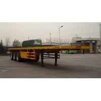 China lower price 20ft/40ft flatbed contrainer semi trailer wholesale