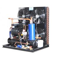 China 15HP Air Cooled Condensing Unit Semi Hermetic Advanced Technology 380V Voltage  480KG wholesale