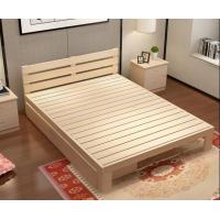 China Modern Family Solid Wood Bed Frame Strong Structure High Standard Practical on sale