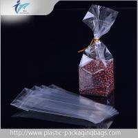 Buy cheap Clear square Block Bottom Bags opp plastic food packaging bag accept OEM/ODM from wholesalers