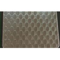 China SUS 409 Patterned Stainless Steel Sheet , Textured Stainless Steel Sheet Metal wholesale
