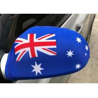 China Digital Printing Country Car Mirror Cover , Decorative Side View Mirror Cover wholesale