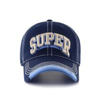China Fashion Black Sports Cap With Embroidery / Baseball Caps For Men wholesale