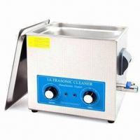 China Mechanical Ultrasonic Cleaner with 40Hz to 80KHz Frequency and 9L Tank Capacity wholesale
