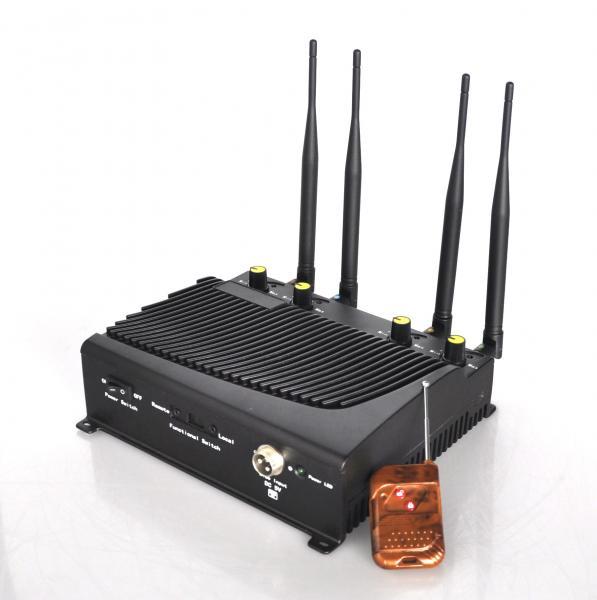 3g gsm cdma dcs phs cell phone signal jammer - 8 Antennas cell phone signal Blocker