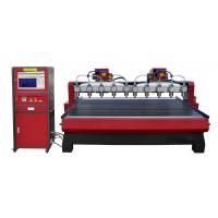 China High Frequency Computer Wood Engraving Machine For Cabinet Doors , Craft Windows on sale