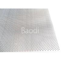 China 1.5m Width Perforated Steel Sheet For Environmental /  Pharmaceutical Industry wholesale