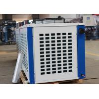 China R404a Piston Air Cooled Condensing Unit , Bitzer Screw Compressor Unit on sale