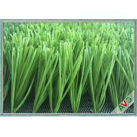 China Cesped Artificial Football Artificial Turf / Synthetic Grass Gentle To Skin wholesale
