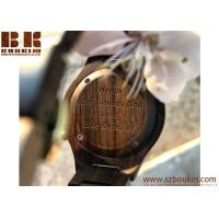 China wholesale wood watch with low moq in stock new wood grain face simple wooden watch wholesale