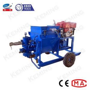 China Cylinder Piston 50L/Min 4Mpa 10hp Mortar Grout Pump wholesale