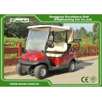 China 2 Seaters Mini Electric Golf Cart Curtis Controller With Italy Graziano Axle on sale
