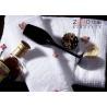 China 16S serviettes molles superbes professionnelles, anti bactéries ZE-FT-07 de serviettes blanches de coton wholesale