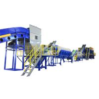 China Pet Bottle Plastic Washing Recycling Machine Big Capacity Easy To Operate wholesale