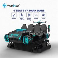 China 3.8KW 9D Cinema Simulator Virtual Reality Shooting VR Game Car With Delicate Action wholesale