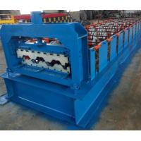 China 15KW Floor Deck Roll Forming Machine For Metal Structural Building Construction wholesale