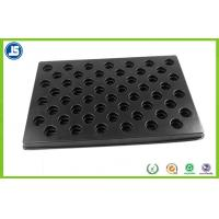China Black 0.5 mm Plastic ESD Trays Anti-static biodegradable for Electronics wholesale
