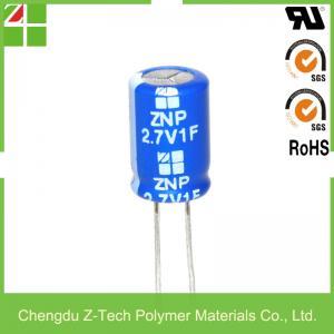 China super capacitor 2.7v 1f farad capacitor film capacitor wholesale