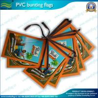 Flags Bunting / 0.15-0.3mm PVC Bunting Flags, Ad Buning Flags
