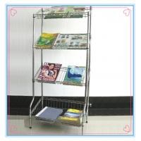 China POP Acrylic magazine display stand with factory price for store on sale