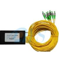 Buy cheap High Return Loss Optical Signal Splitter , Fiber Optic Audio Splitter With from wholesalers
