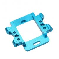 China anodize blue color cnc milling aluminum 6061 metal parts rapid prototype wholesale