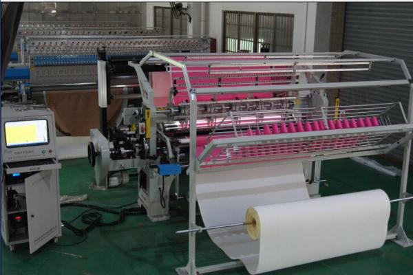 Quality 1.6 Meters Duvet Single Head Quilting Machine Low Maintenance 3.5KW Rating Power for sale