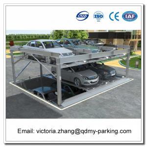 China -1+2 (3 Floors) Pit Design Puzzle Parking System Smart Card Parking Equipment wholesale