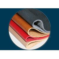 China Spunlace Nonwoven Synthetic Leather Fabric on sale