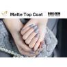 China No Yellowish Gel Nail Top Coat , Clear Gel Top Coat Over Regular Polish wholesale