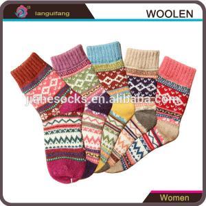 China Custom Winter Warm Rabbit Wool Socks For Women wholesale