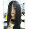 14 Inches European Virgin Hair Jewish Wigs Natural Color Natural Straight Big Layers
