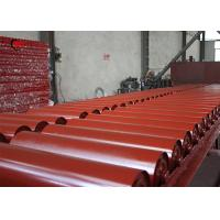 China Horizontal Portable Concrete Conveyors Belts Industrial Steel Rollers on sale