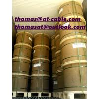 China 3666m wooden drum with pallet semi-finished CCS RG6-U Coaxial Cable Without PVC Jacket wholesale
