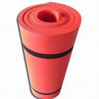 China NBR/Camping/Sport Mat with 8 to 15mm Thickness, Made of Nitrile Rubber wholesale