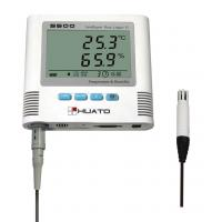 Customized High Temperature Humidity Data Logger Mac Compatible Plastic Material