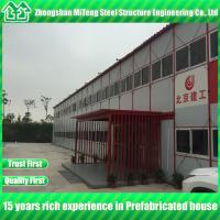 China Prefab house kits Light steel structure Real estate Modular house with fire proof sandwich panel on sale