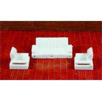 China Architectural Scale Model Home Furnishing 1:50 ABS Living Room Sofa  wholesale