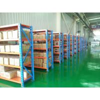 China White / Blue 4 Layers Light Duty Racking For Warehouse Adjustable Structure wholesale
