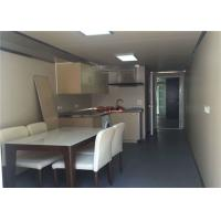 China 20ft White Red Modular Container Homes Prefabricated Building Construction wholesale