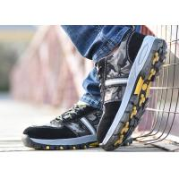 China Mesh Lightweight Industrial Safety Shoes Slip Resistant For Outdoor Activities wholesale