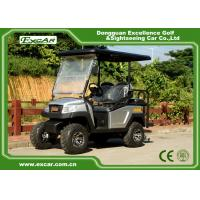 China SUV 4 Seat Hunting Electric Golf Carts With Trojan Battery 48V on sale