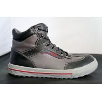 China Gray And Black Mining Steel Safety Toe Work Shoes For Ladies wholesale