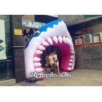 China Full Printing Inflatable Entrance, Inflatable Shark Arch for Events wholesale