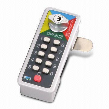 Push Button Combination Lock Images