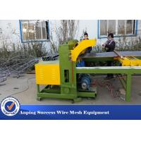 China Easy Operation Wire Fencing Machine , Chicken Mesh Making Machine 30 Times / Min wholesale