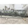 China Solo vidrio decorativo principal redondo del panel para la puerta de entrada E baja los 3.2m moderados wholesale