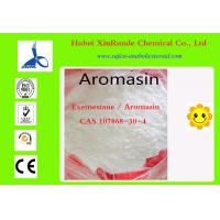 China 107868-30-4 Breast Cancer Steroids Cycles For Cutting Exemestane / Aromasin wholesale