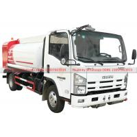 China ISUZU Fuel Bowser Truck with Fuel Dispenser Hose reel and flow meter 6000Liters wholesale